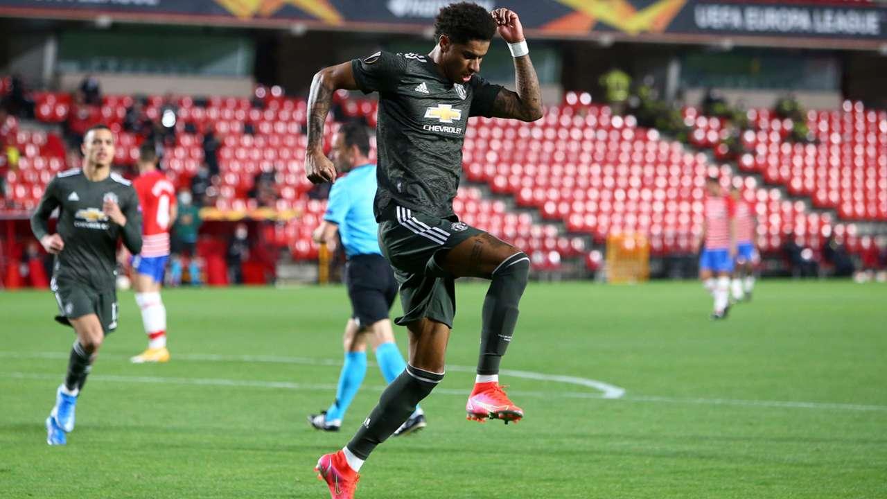 Marcus Rashford Manchester United Granada 2020-21