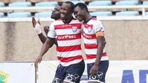 AFC Leopards celebrate