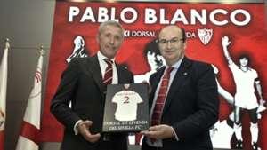 Pablo Blanco Jose Castro Sevilla FC