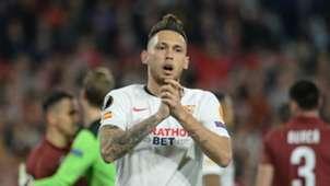 Ocampos Sevilla Cluj Europa League