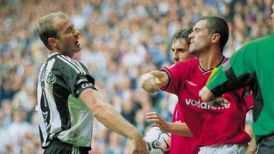 Alan Shearer, Roy Keane, Newcastle vs Manchester United
