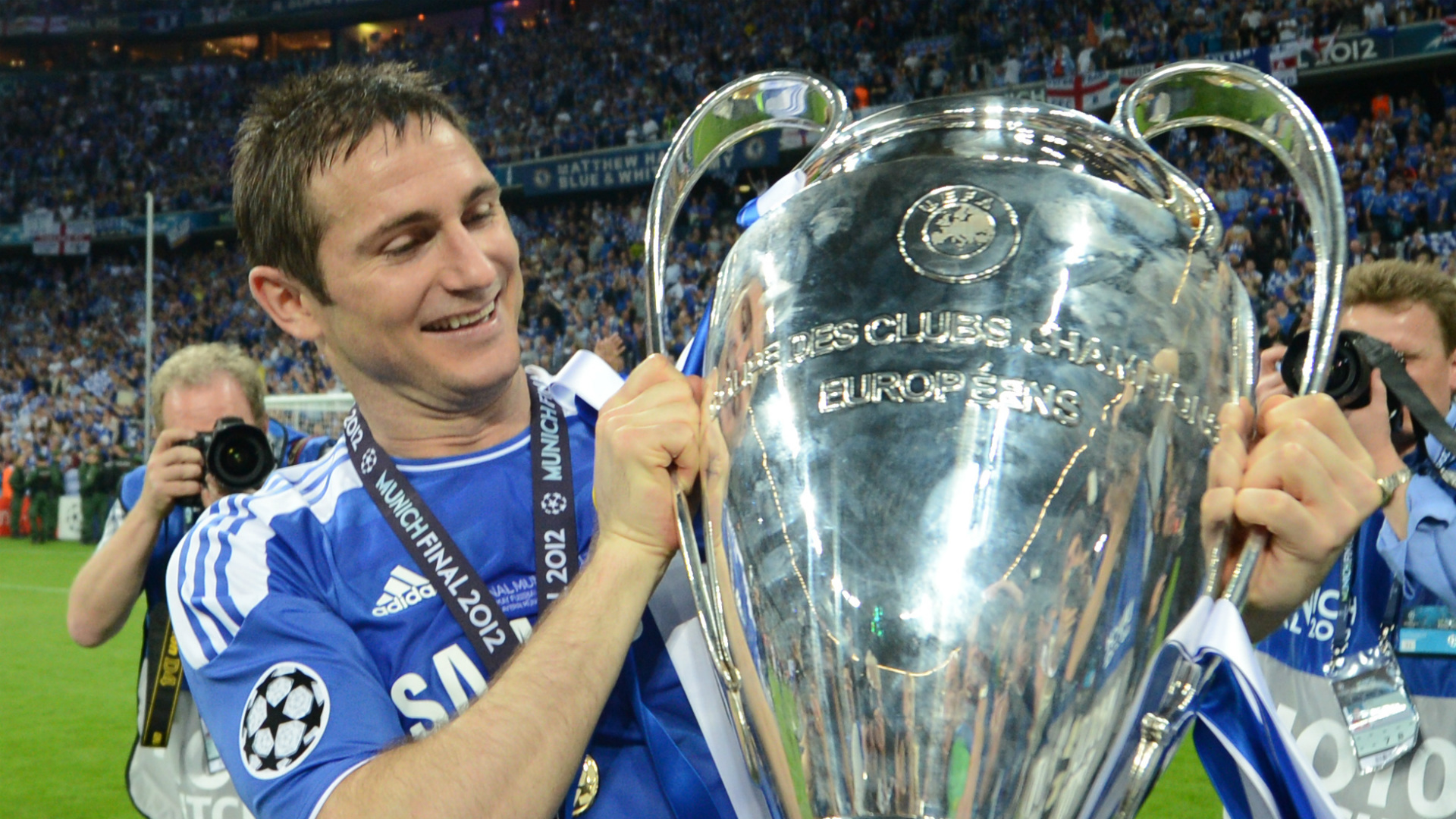 Lampard played a key role in Chelsea's miracle in Munich in 2012 - so can he upset Bayern again?