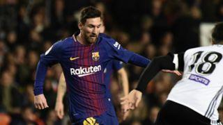 Lionel Messi Barcelona Valencia