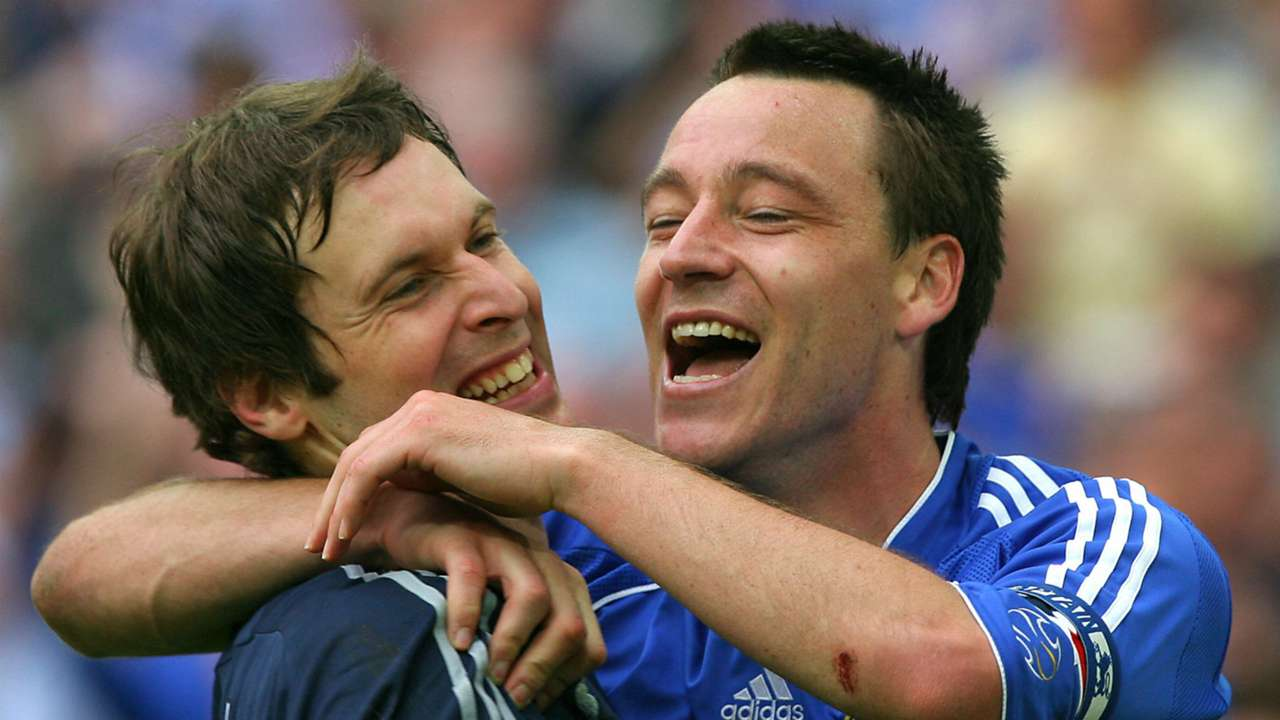Petr Cech John Terry Chelsea