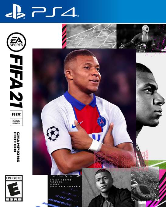 FIFA 2021 PS4-cover game