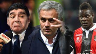 Maradona, Mourinho, Balotelli