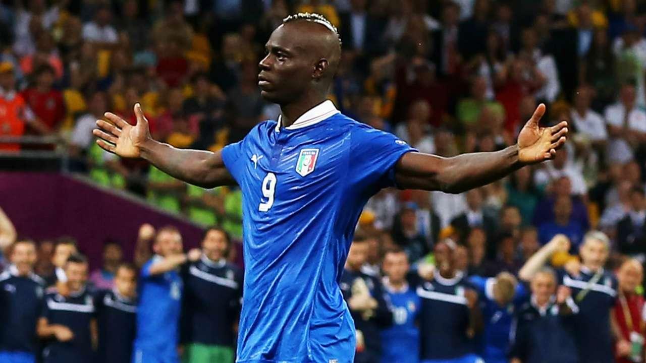 Mario Balotelli Italy Euro 2012
