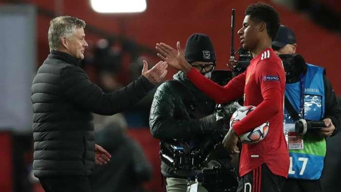 Ole Gunnar Solskjaer Marcus Rashford Manchester United GFX