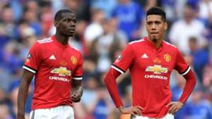 Paul Pogba Chris Smalling Manchester United FA Cup final 2018