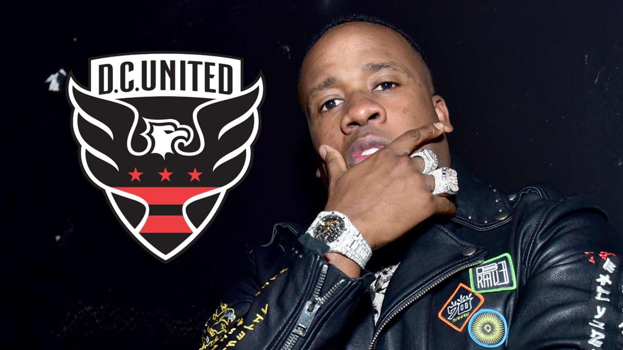 Yo Gotti, D.C United badge