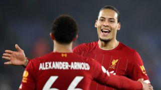 Virgil van Dijk Leicester vs Liverpool 2019-20