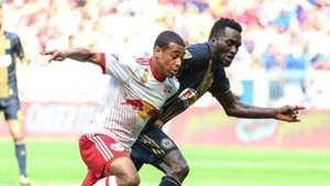 Tyler Adams CJ Sapong MLS 09172017