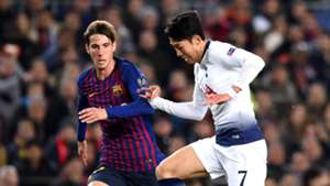 Juan Miranda, Barcelona, Son Heung-min, Tottenham