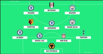 Premier League Team of the Season PS