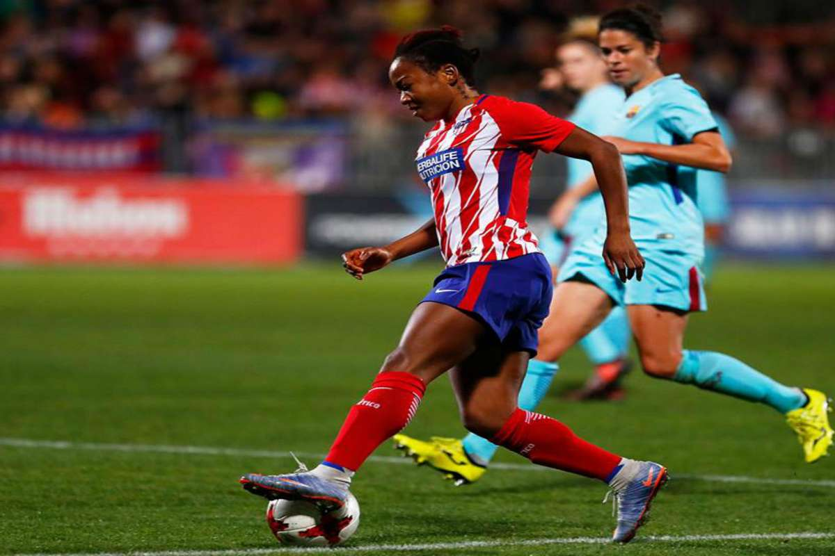 EXTRA TIME: Atletico Madrid's Francisca Ordega goes on canoe cruise | Goal.com