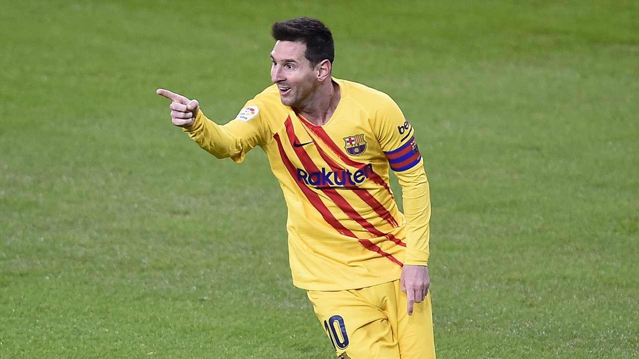 Lionel Messi, Barcelona away 2020-21