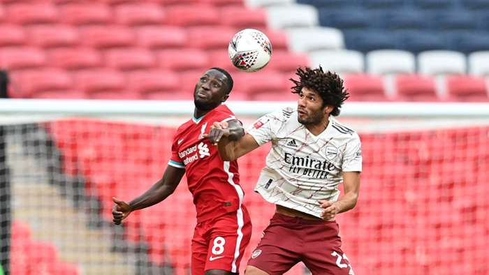 Mohamed Elneny, Naby Keita - Arsenal vs Liverpool