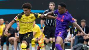 Jadon Sancho Nathaniel Clyne Liverpool Borussia Dortmund ICC 2018 22072018