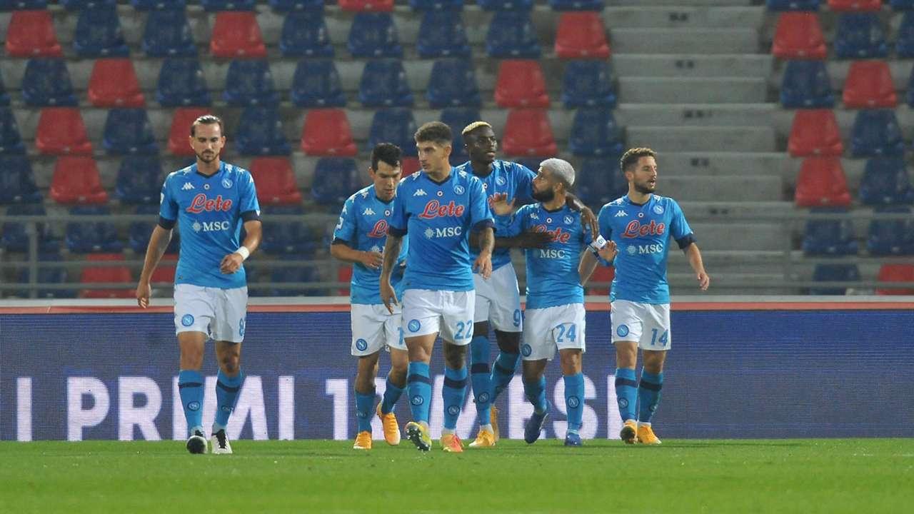 Osimhen - Bologna Napoli - Serie A 2020/21