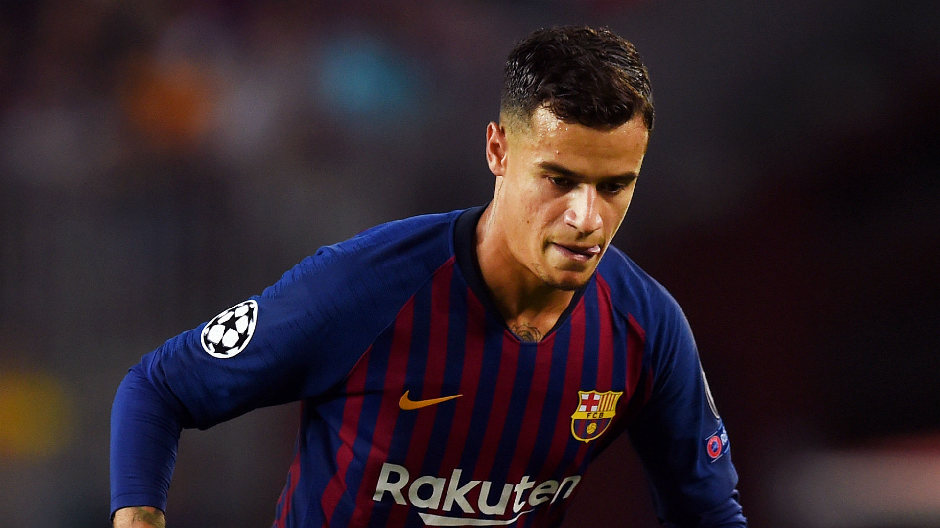 Philippe Coutinho Barcelona Champions League 2018-19