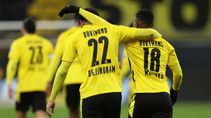 Jude Bellingham Youssoufa Moukoko Borussia Dortmund 2020-21