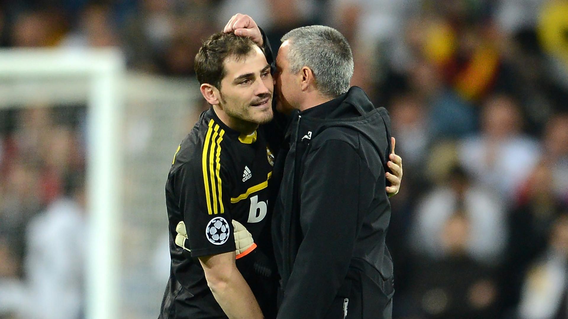 """Mourinho affirme qu'il a réparé sa relation avec Casillas : """"Un grand gardien de but et un grand homme"""""""