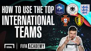 FIFA 20 best international teams