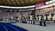 FC Bayern Eintracht Frankfurt Banner