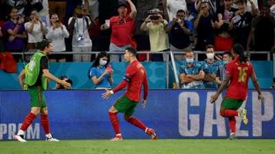Ronaldo Portugal France Euro 2020