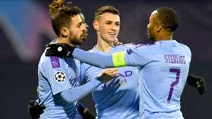 Foden Sterling Silva Manchester City