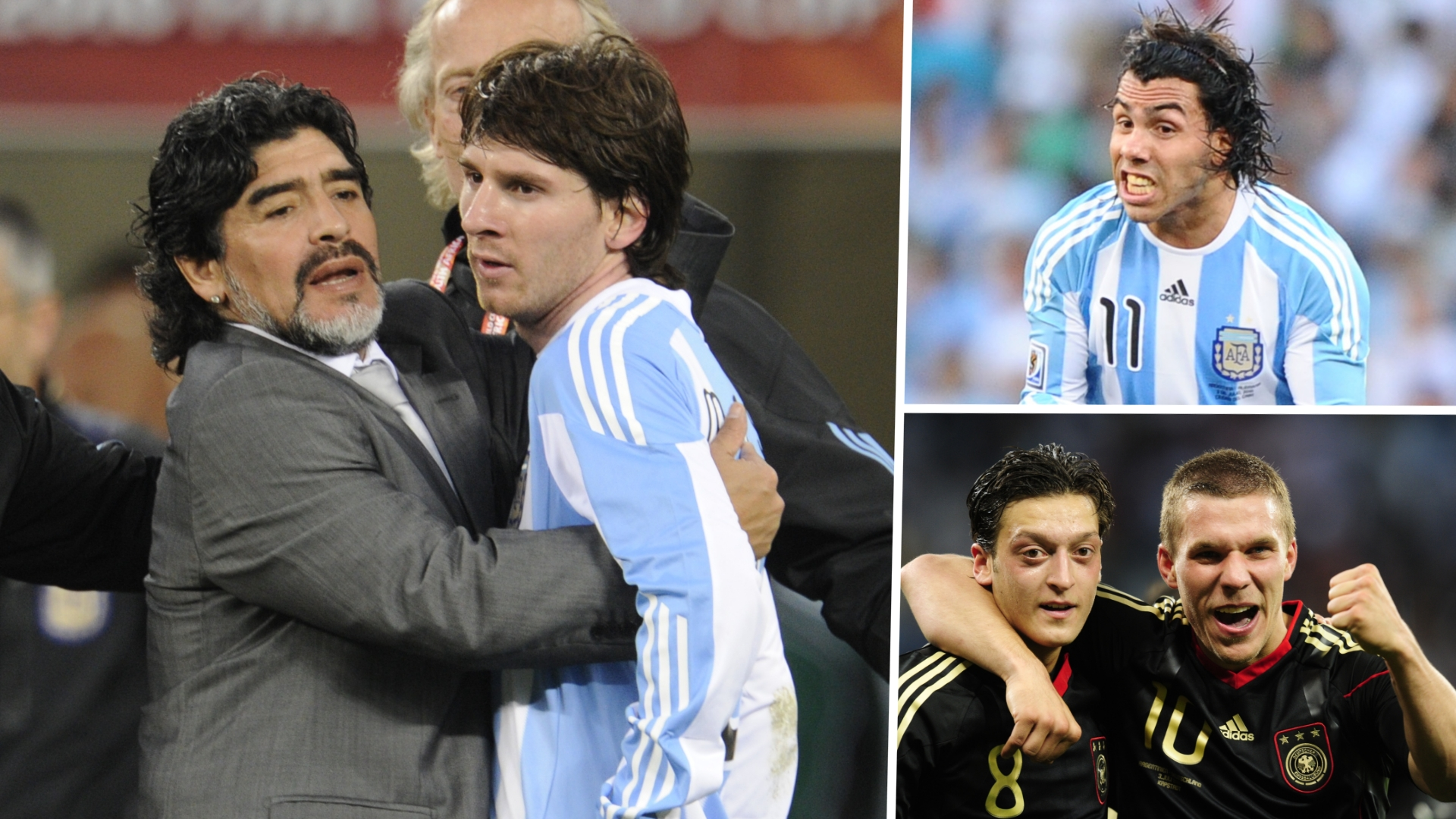 Suck It And Keep Sucking How Maradona Blew Messi S Best Chance Of Winning The World Cup Goal Com