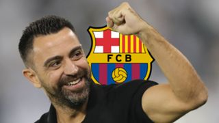 Xavi Hernandez, Barcelona logo