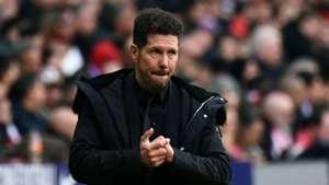 Diego Simeone Atletico Madrid Real Madrid La Liga 09022018