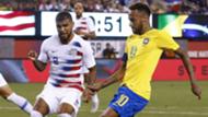 USMNT Brazil Yedlin Neymar 2018