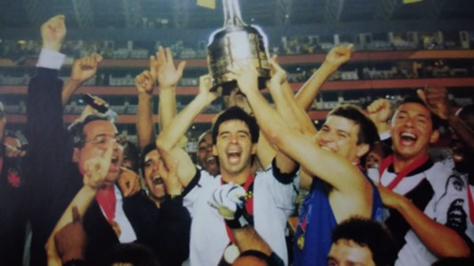 Mauro Galvão Luizão Eurico Vasco Libertadores 1998