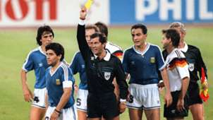 Diego Maradona Argentina FIFA World Cup 1990