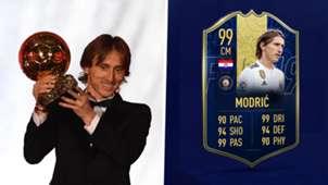 Luka Modric FIFA card