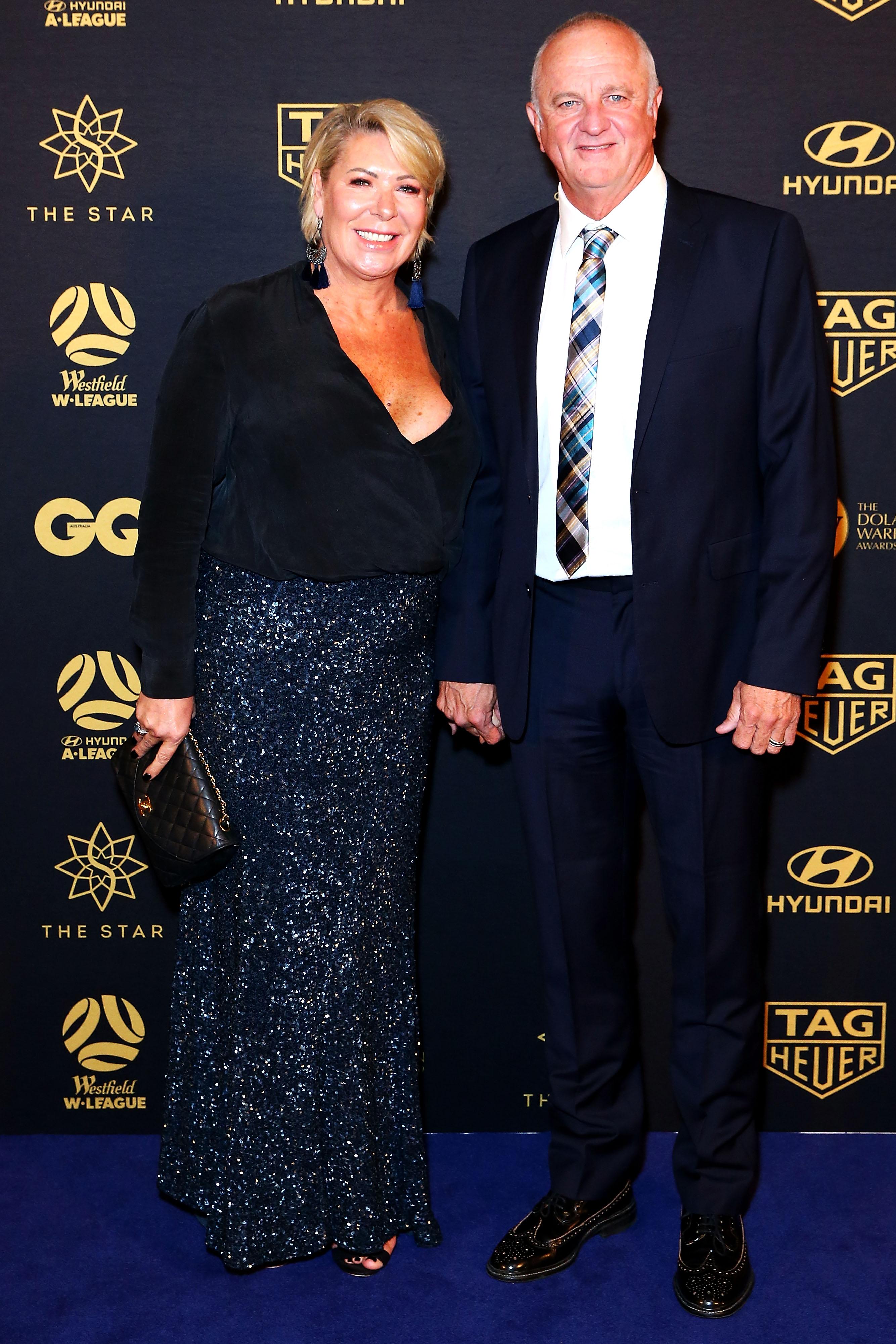 Sarah and Graham Arnold