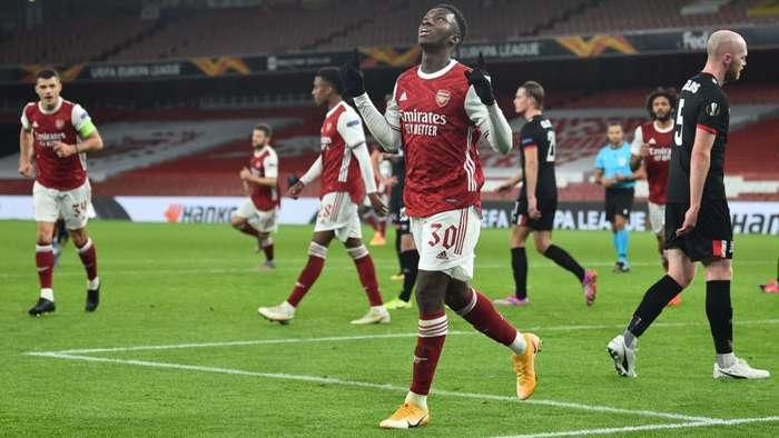 Eddie Nketiah Arsenal 2020-21