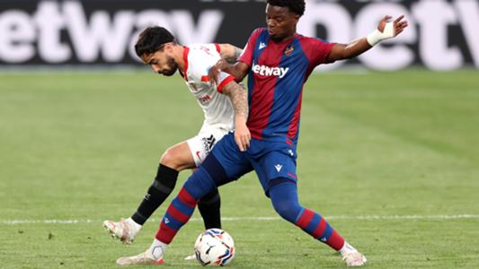 El resumen del Levante vs. Sevilla de la LaLiga 2020-2021: vídeo, goles y estadísticas | Goal.com