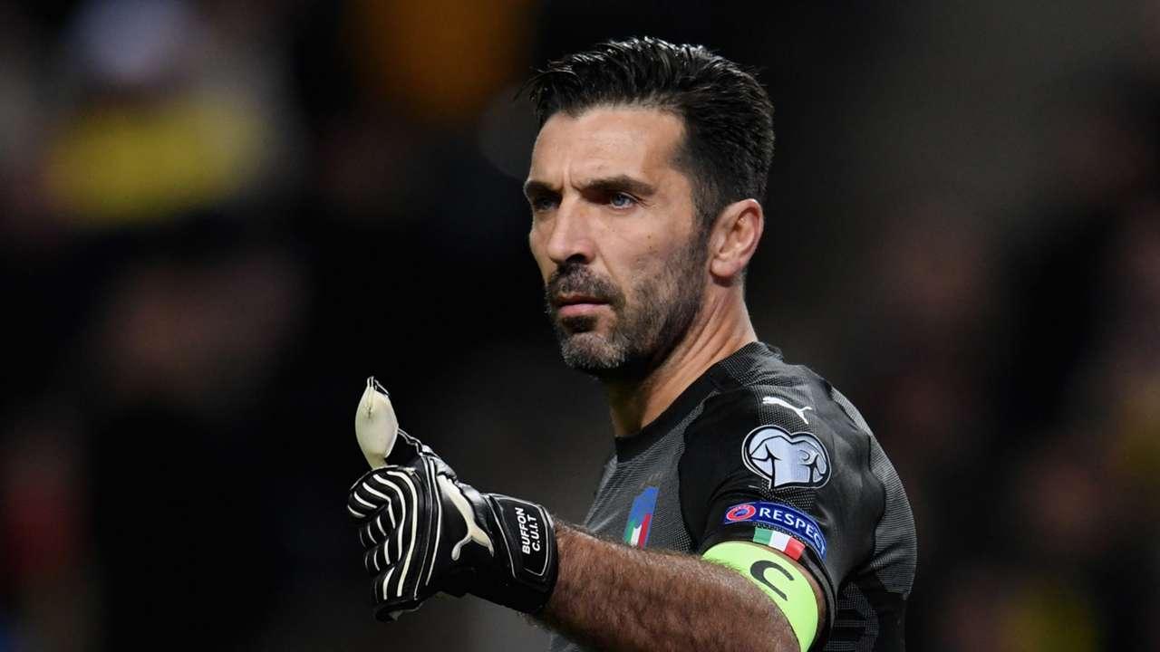 Gianluigi Buffon Italy Sweden