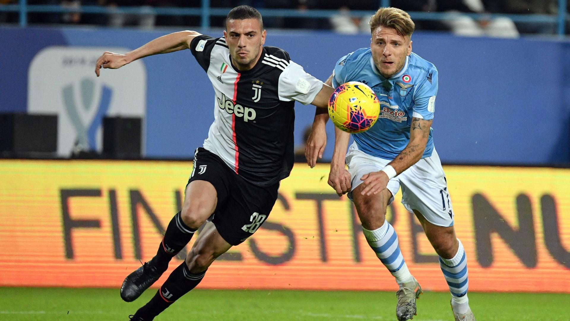 Demiral Immobile - Lazio Juventus