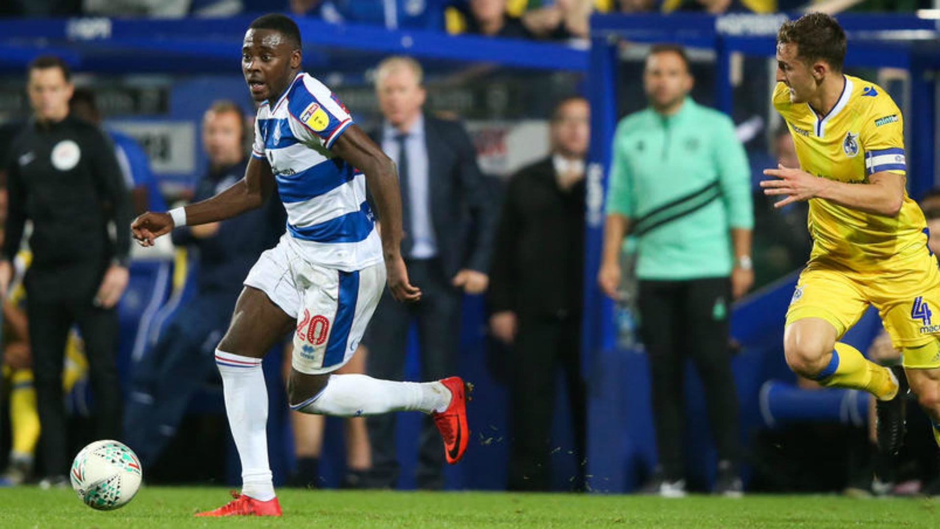 QPR's Osayi-Samuel makes Championship Team of the Week after Cardiff City heroic display
