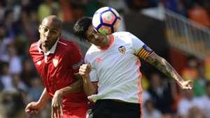 Enzo Perez Steven Nzonzi Valencia Sevilla La Liga
