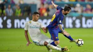 Lionel Messi Casemiro Real Madrid Barcelona ICC
