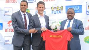 Jonny McKinstry appointed Uganda Cranes coach.