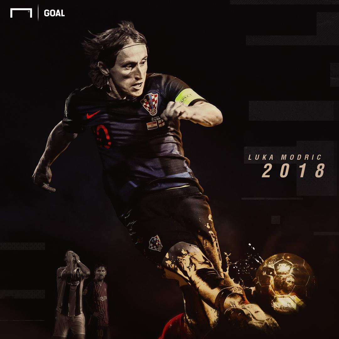 Modric Ballon d'Or graphic