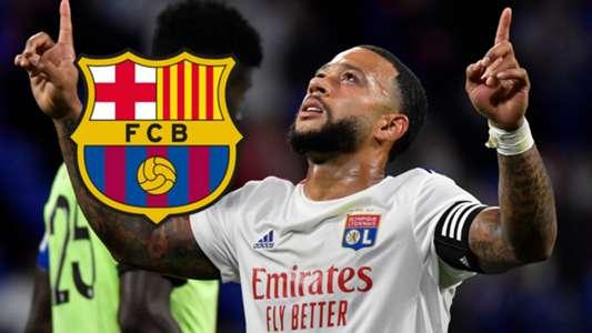(Chuyển nhượng Barca) Chủ tịch Lyon úp mở về tương lai của Depay
