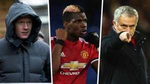 Paul Scholes Paul Pogba Jose Mourinho Manchester United