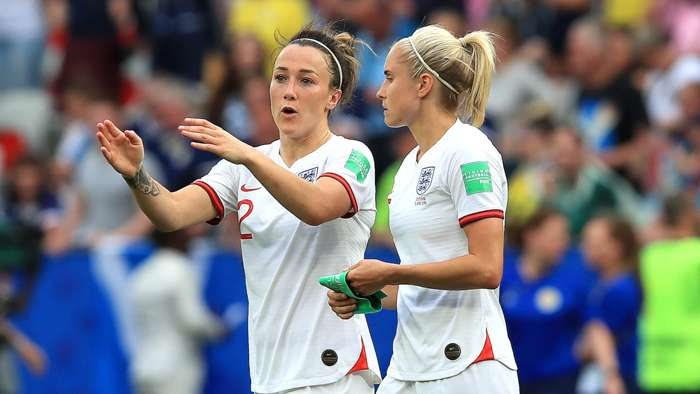 Lucy Bronze Steph Houghton England Women 2019